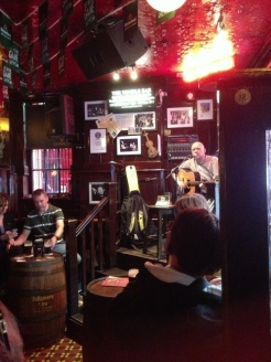 Music in the Temple Bar, Dublin