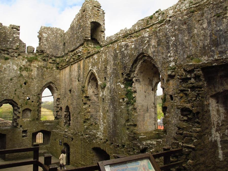 Ruins of Pembroke Castle, Wales
