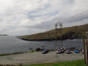 The not working cable car to Dursey Island