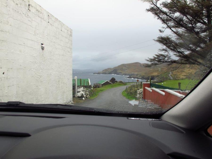 Aha, the road did make a sharp turn