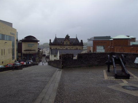 Derry from the walls
