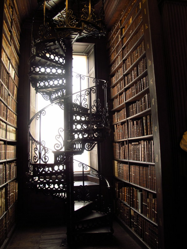 Stairs in the Old Library Dublin