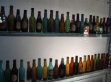 Bottle display at the Storehouse