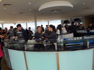The 7th floor bar at the Guiness Storehouse, Dublin