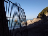 Gate to Tunnel Beach