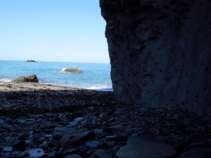 One of Tunnel Beaches, Ilfracombe