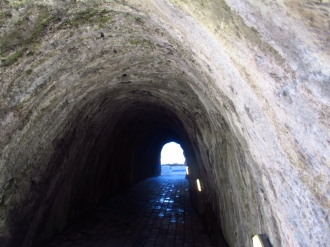 light at the end of the tunner - Tunnel Beach, Ilfracombe