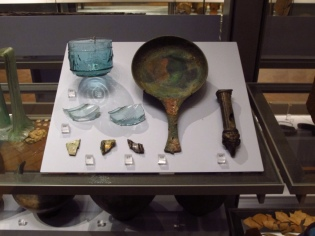 Artifacts from Roman settlements at Exeter