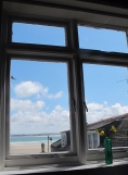 from Seaview Cafe at St. Ives, England