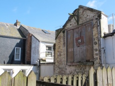 in the backstreets, St. Ives, England