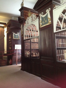 Reading cage in Marsh's Library, Dublin