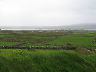 Towards the west coast of Ireland