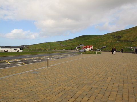 Visitor centre at Cliffs of Moher