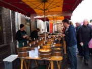 Market stall in Galway