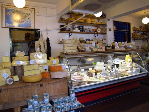 Cheese shop in Galway, Ireland
