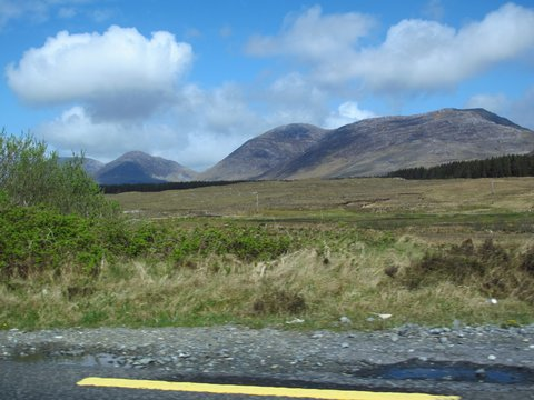 On the way to Clifden, Ireland