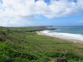 View along the coast near Giants Causeway, Northern Island