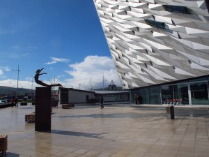 Entrance to the Titanic Centre, Belfast