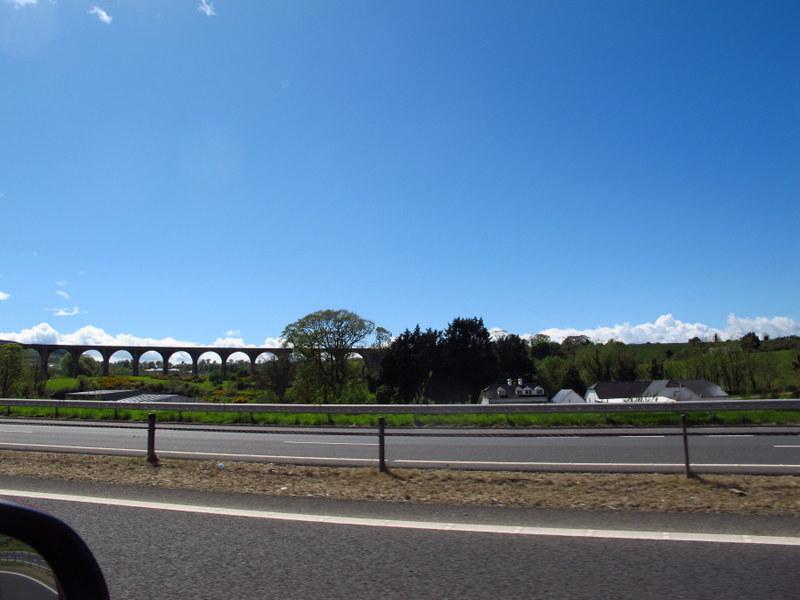 Interesting bridge on the way south