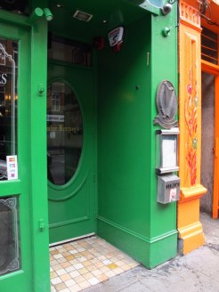 The orange and the green, Dublin