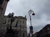 Streetlights in Dublin