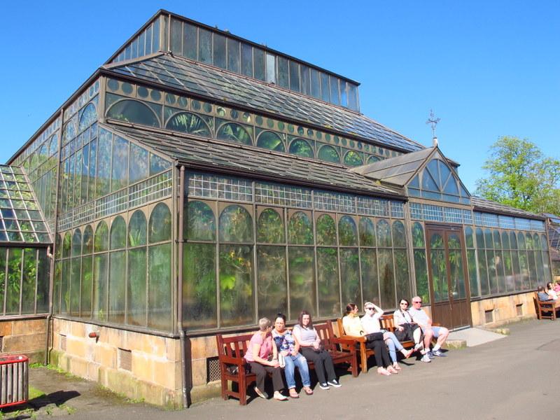 Glasshouse at the Botanic Gardens Glasgow