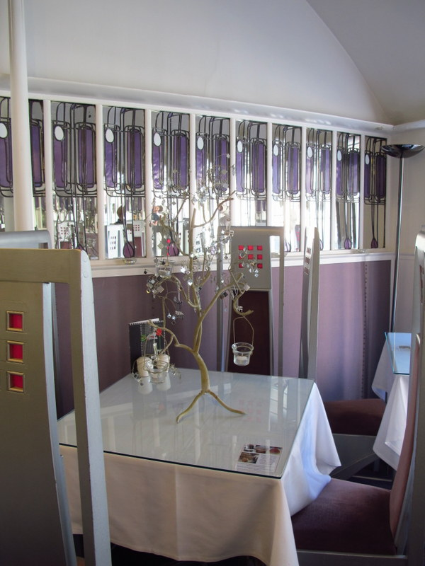 The deluxe room at Willow Tea Rooms, Glasgow