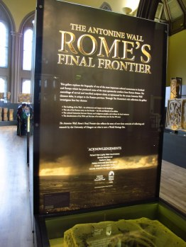 Roman exhibition at the Hunterian, Glasgow