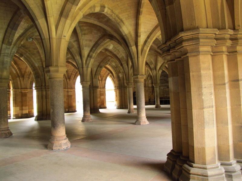 At Glasgow University