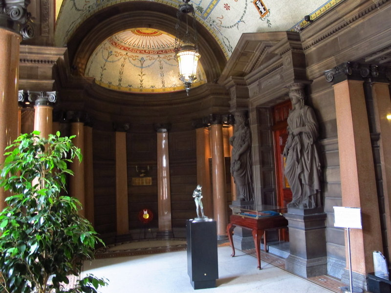 Interior at Glasgow City Chambers