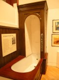 A very modern bath, early 1900's, People's Palace, Glasgow