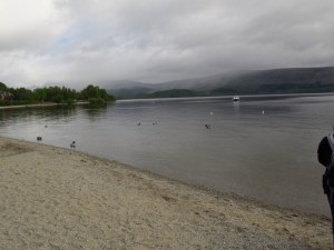 On the bonnie bonnie banks of Loch Lomond, Scotland