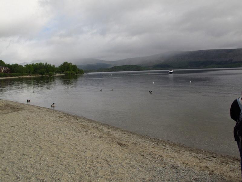 On the bonnie bonnie banks of Loch Lomond, Scotland