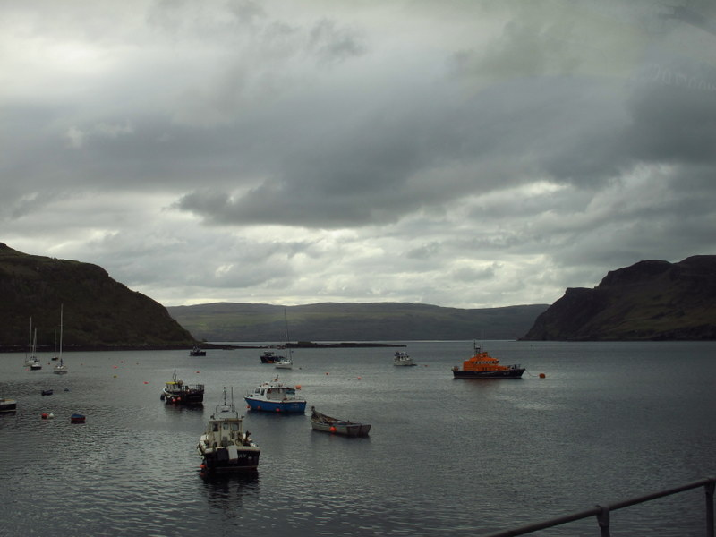 Portree Harbour, Isle of Skye, Scotland