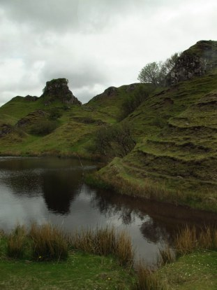 The fairy grove on Isle of Skye