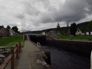 Canals in Fort Augustus, Scotland