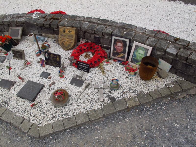 Memorial Garden at the Commando Memorial, Scotland