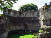 Ruins in the gardens, York