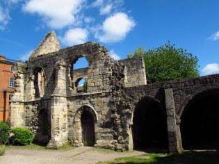 Ruins of St Leonards Hospital, York