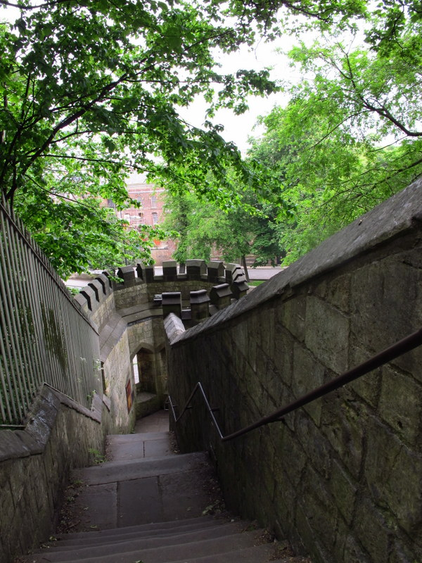 Steps to the York Walls