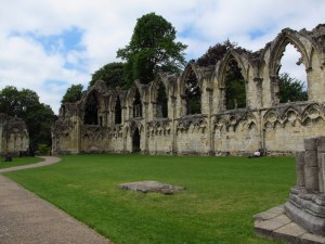 St Mary's Abbey ruins, York