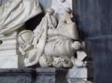 Part of a memorial sculpture at York Minster