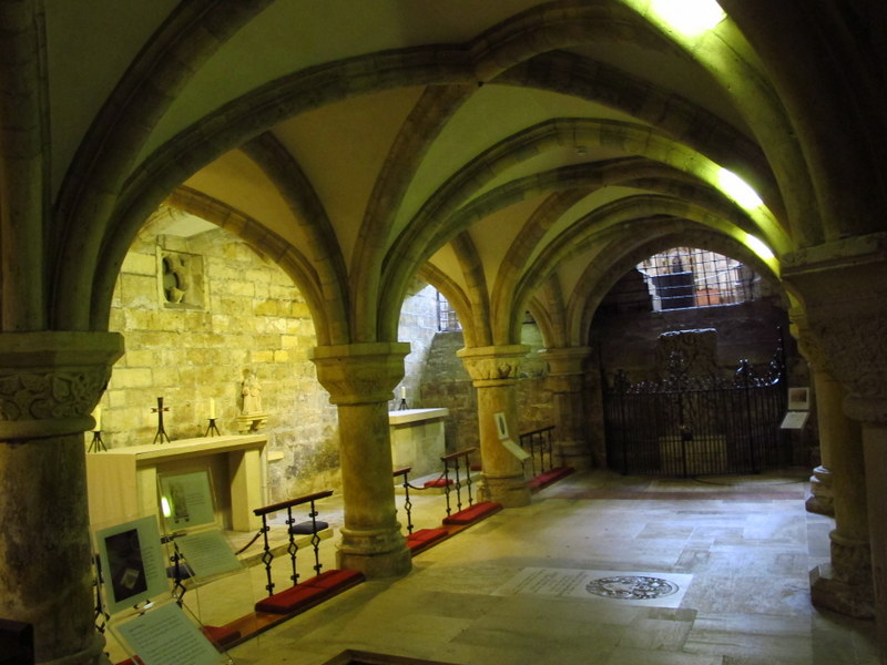 The crypt of York Minster