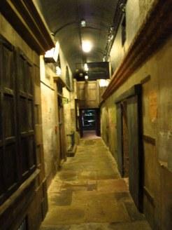 Alley behind Kirkgate St