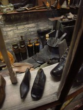 Shoemaker's shop in York Castle Museum