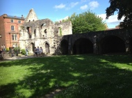 Ruins in the Botanical Gardens, York