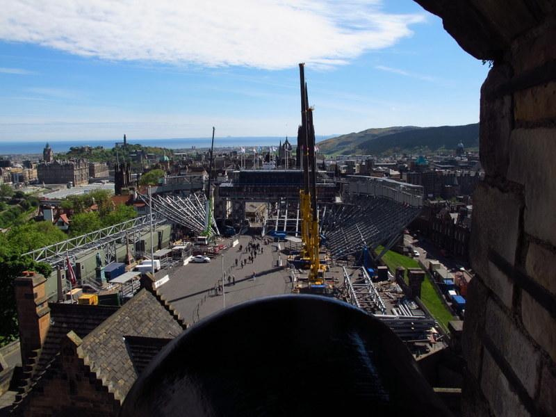 Where the Edinburgh Tattoo heppens