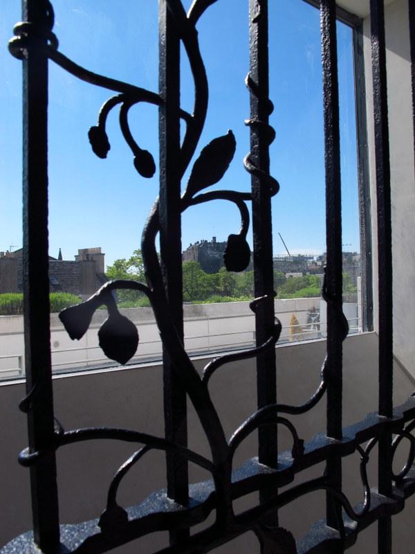 Wrought iron work, Museum of Scotland