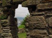 From the abbey ruins on Inchcolm Island, Scotland