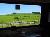 English countryside between Edinburgh and York